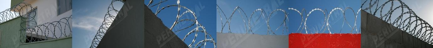 Saiba como é feita a instalação da Concertina Dupla Clipada