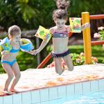 Dicas para evitar acidentes e afogamentos de crianças em piscinas