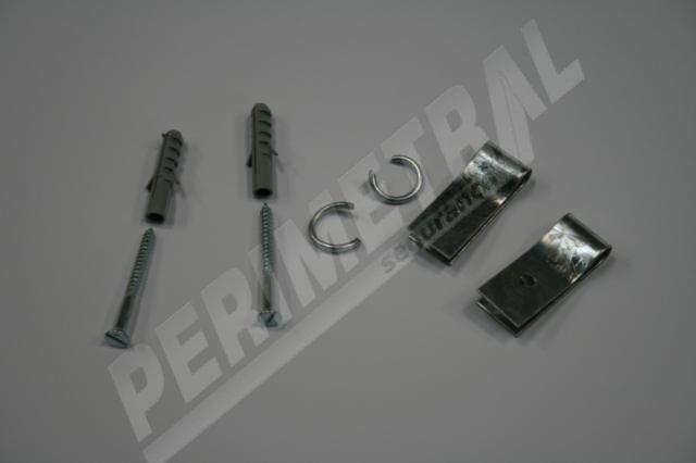 Solução técnica da Perimetral Segurança para fixação da concertina